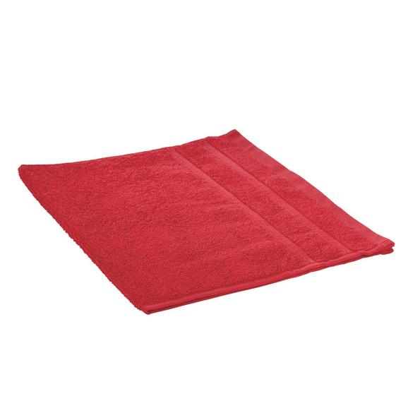Gästetuch Melanie in Rot - Rot, Textil (30/50cm)