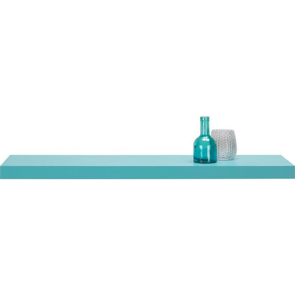 Stenska Polica Anja Mare - svetlo modra, leseni material (100/4,4/24cm) - Mömax modern living