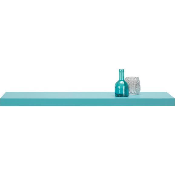 Wandboard Hellblau - Hellblau, Holzwerkstoff (100/4,4/24cm) - Mömax modern living