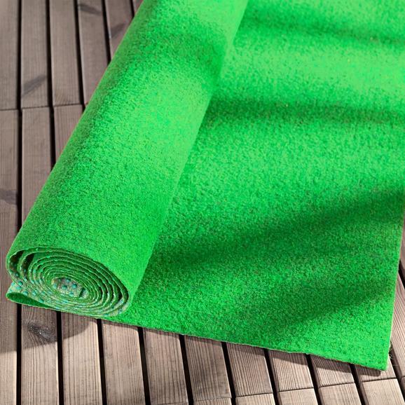 Preproga Za Zunanjo Uporabo Monaco - zelena, tekstil (133/300cm) - Mömax modern living