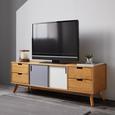 TV-möbel Maris - Eichefarben/Buchefarben, MODERN, Holz (140/48/40cm) - Modern Living