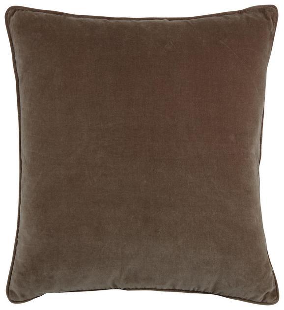 Zierkissen Susan in Taupe, ca. 60x60cm - Taupe, Textil (60/60cm) - Mömax modern living