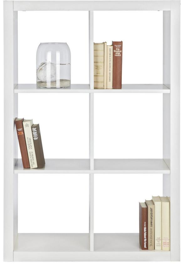 Raumteiler Weiß Lackiert - Weiß, Basics, Holzwerkstoff (117,2/83,4/35cm) - Mömax modern living