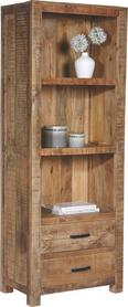 Regal in Braun - Naturfarben, LIFESTYLE, Holz (67/180/42cm) - Zandiara