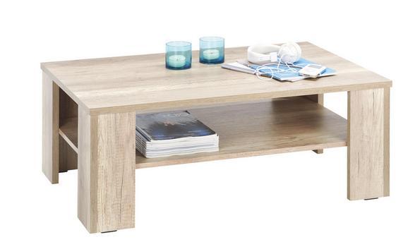 Couchtisch Holz - Eichefarben, KONVENTIONELL, Holz (103/39/63cm) - MÖMAX modern living