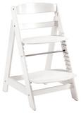 Hochstuhl Holz/Weiß - Weiß, Holz (44,5/54/80cm) - Modern Living