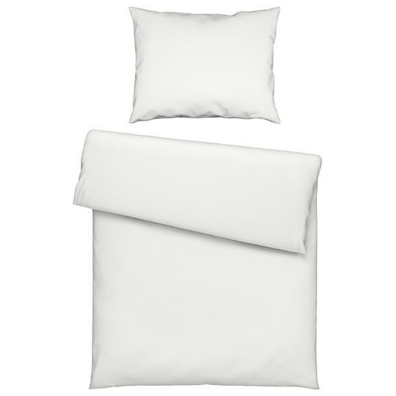 Lenjerie De Pat Iris - Alb, Material textil (140/200cm) - Mömax modern living