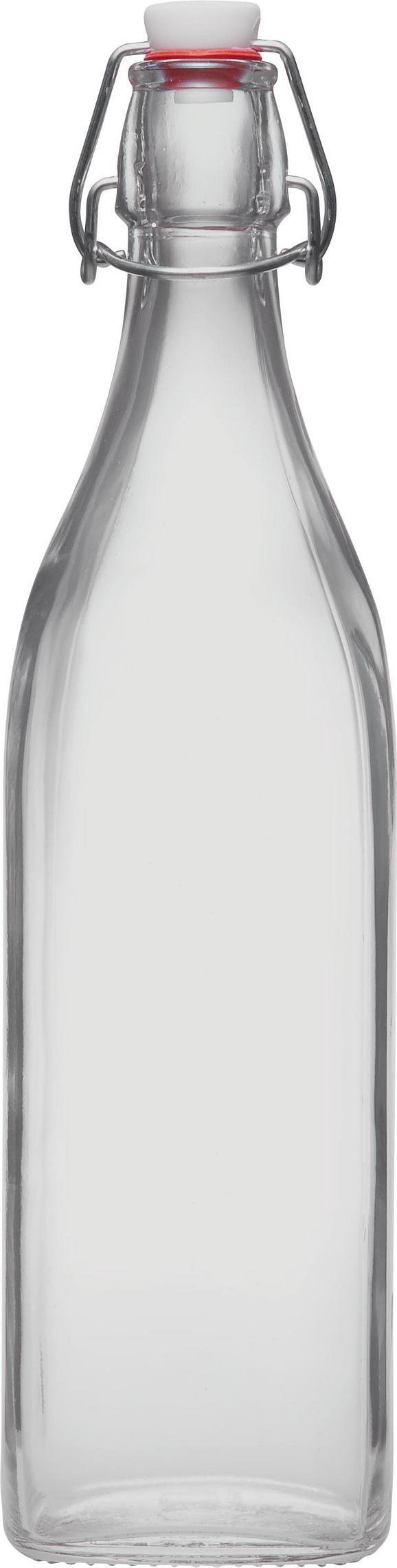 Universalflasche Swing aus Glas, ca. 1l - Klar, Glas (1l) - Mömax modern living