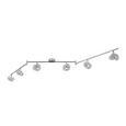 LED-Strahler Star, max. 6x6 Watt - LIFESTYLE, Kunststoff/Metall (180/13,5cm) - Premium Living