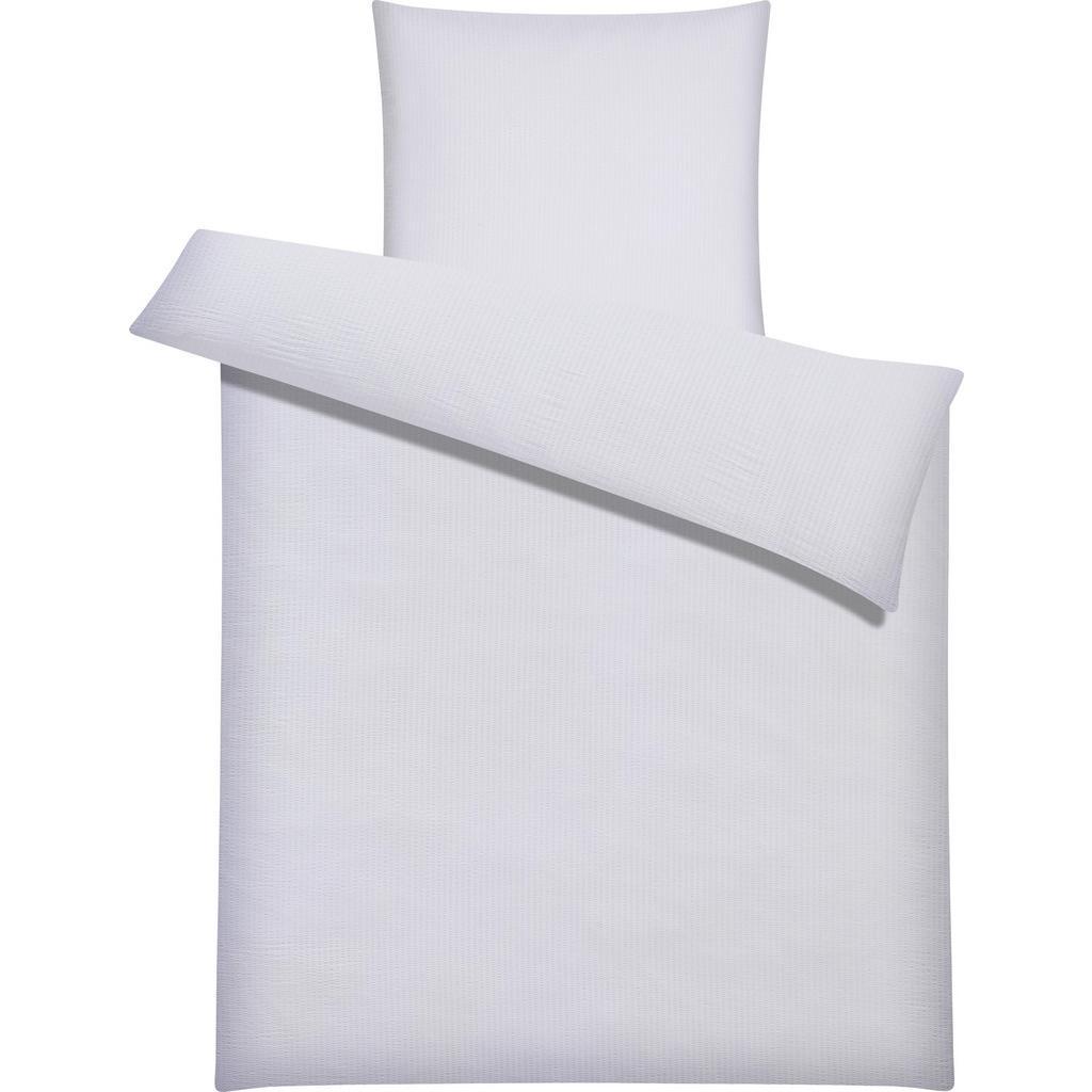 Bettwäsche Brigitte in Weiß ca.135x200cm