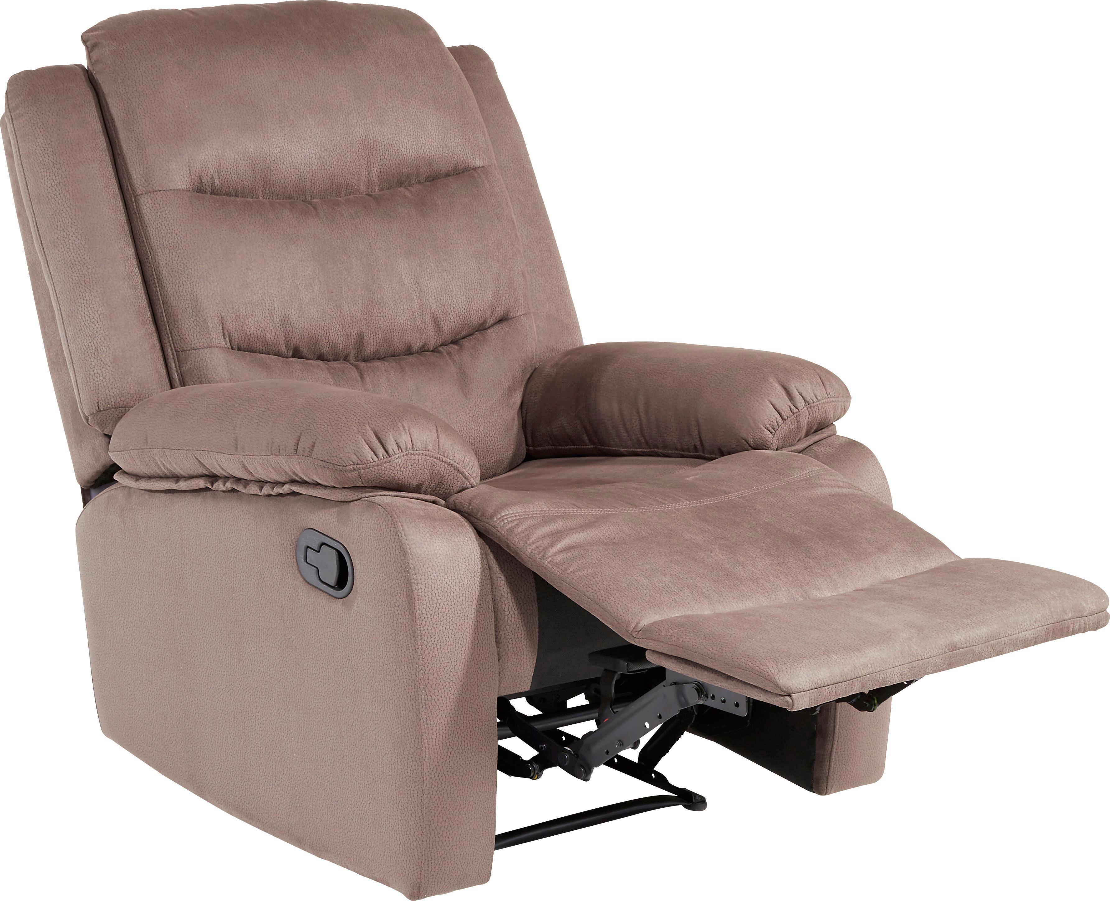 Tv-fotel Ivan - barna, konvencionális, műanyag/textil (85/103-85/91-160cm) - JAMES WOOD
