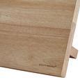 Echtwerk Messerblock Damaszener 6-teilig - Braun, MODERN, Holz (22/13/36cm) - Echtwerk