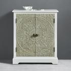 Kommode Avery - Naturfarben/Weiß, MODERN, Holz/Metall (65/75/35cm) - Modern Living