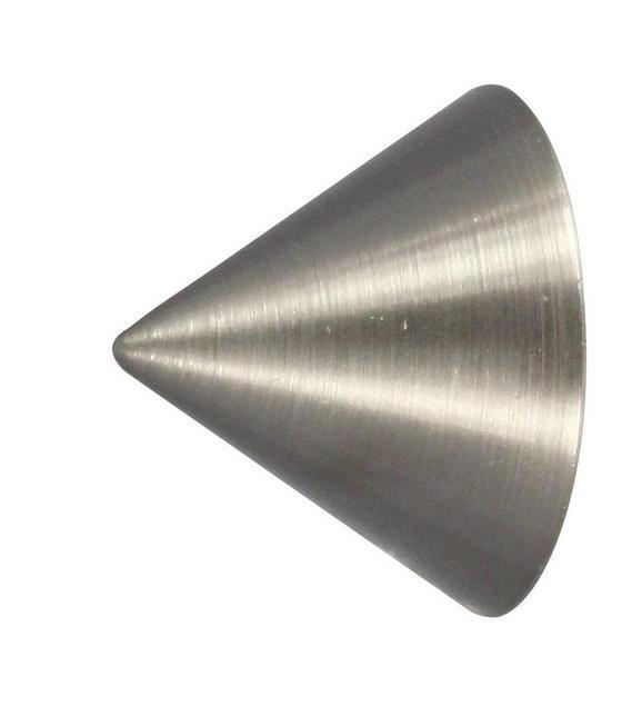 Zaključni Element Endstück Cone - nerjaveče jeklo, Moderno, kovina (1/1/1cm) - Mömax modern living