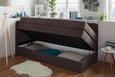 Boxspringliege Schlammfarben 90x200cm - Schlammfarben/Beige, KONVENTIONELL, Holz/Holzwerkstoff (205/95/93cm) - Premium Living