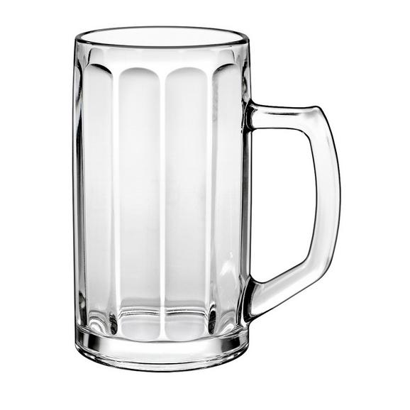 Bierglas Franz ca. 500ml - Klar, Glas (9/16cm) - Mömax modern living