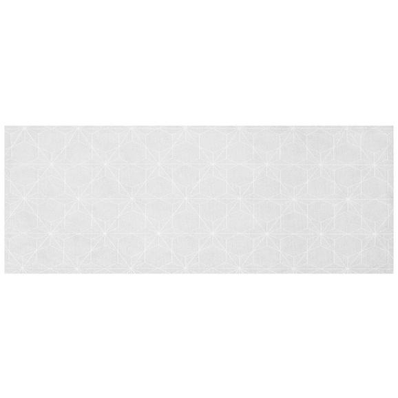Tischläufer Megan in Weiß, ca.45x150cm - Weiß, LIFESTYLE, Textil (45/150cm) - Premium Living