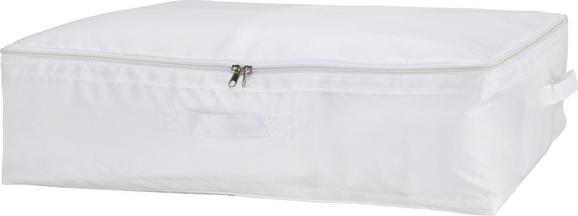 Aufbewahrungsbox Kläck in Weiß - Weiß, MODERN, Kunststoff (60/45/18cm) - Mömax modern living