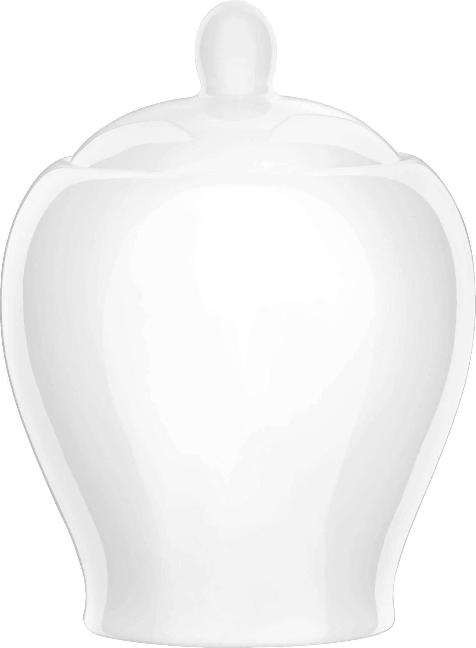 Cukortartó Bonnie - fehér, modern, kerámia (0,35l) - MÖMAX modern living