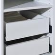 Schublade in Weiß - Weiß, MODERN, Holzwerkstoff (42,4/14/53cm) - Based