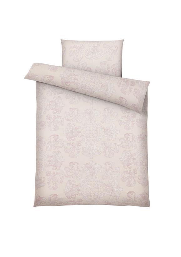 Bettwäsche Antonia, ca. 135x200cm - Rosa, ROMANTIK / LANDHAUS, Textil (135/200cm) - Mömax modern living