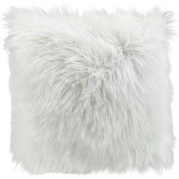 Kissen in Weiss 'Mona' ca. 40x40 cm - Weiß, MODERN, Textil (40/40cm) - Bessagi Home