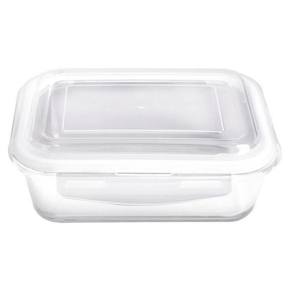Frischhaltedose Fresh ca. 350ml - Klar, Glas/Kunststoff (15,4/10,8/6,3cm) - Mömax modern living