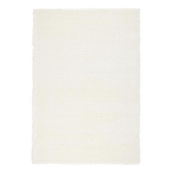 Hochflorteppich Florenz in  Weiß ca. 80x150cm - Weiß, MODERN, Textil (80/150cm) - Mömax modern living