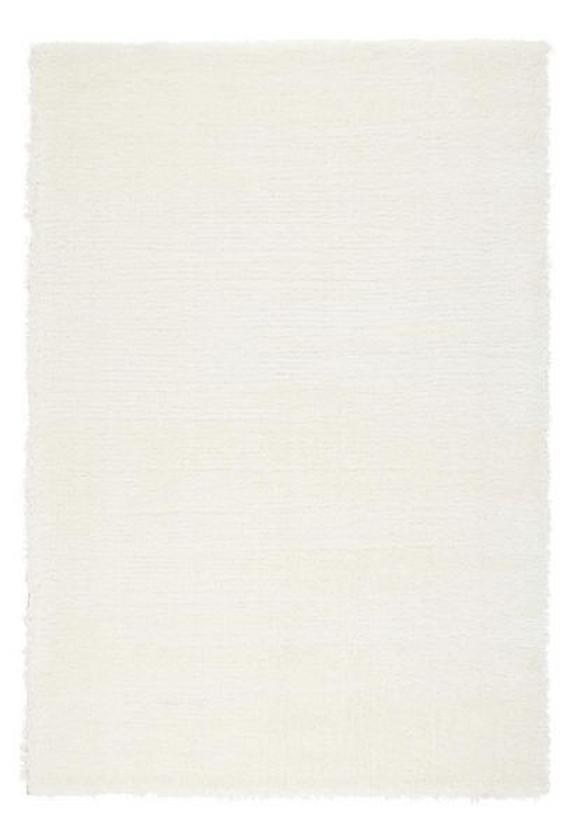 Hochflorteppich Florenz Weiß 80x150cm - Weiß, MODERN, Textil (80/150cm) - Mömax modern living