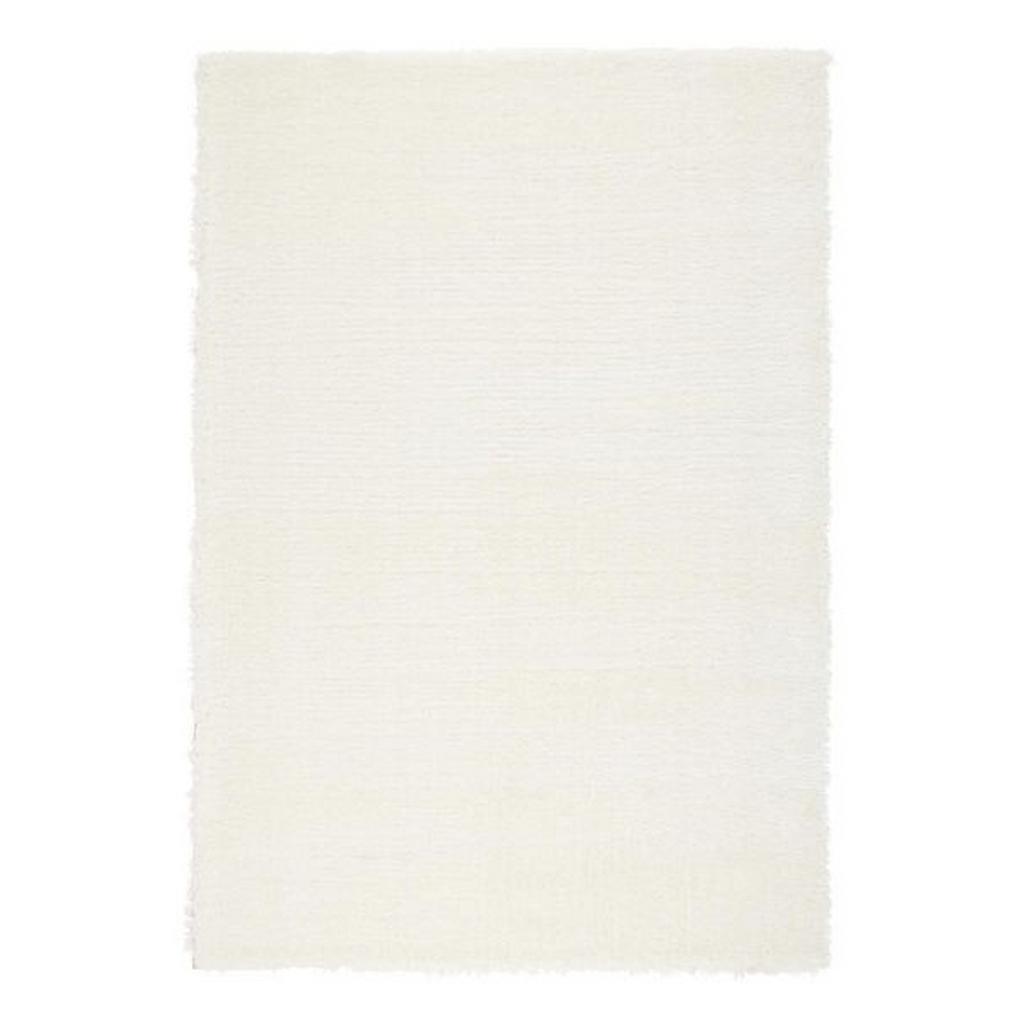 Hochflorteppich Florenz Weiß ca. 80x150cm
