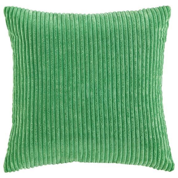 Kissen in Grün 'Layla' ca. 45x45cm - Grün, MODERN, Textil (45/45cm) - Bessagi Home