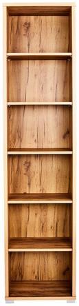 Pisarniški Regal Profi - hrast, Moderno, leseni material (50/220/35cm) - MÖMAX modern living