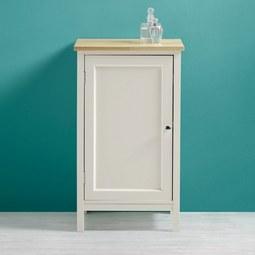 Unterschrank Jule - Fichtefarben/Weiß, MODERN, Holz/Metall (40/38/68cm) - MODERN LIVING