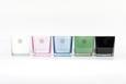 Windlicht Adele verschiedene Farben - Schwarz/Rosa, Glas (10/10/10cm) - Mömax modern living