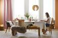 Viseča Svetilka Greta - bela, Trendi, les (46/120/cm) - Modern Living