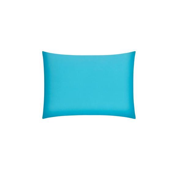 Prevleka Blazine Belinda - petrolej/turkizna, tekstil (70/90cm) - Premium Living