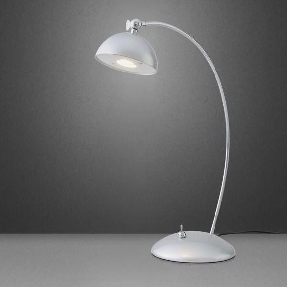 Tischleuchte Amos mit Led - Silberfarben, Metall (23/12,5/35cm) - Mömax modern living