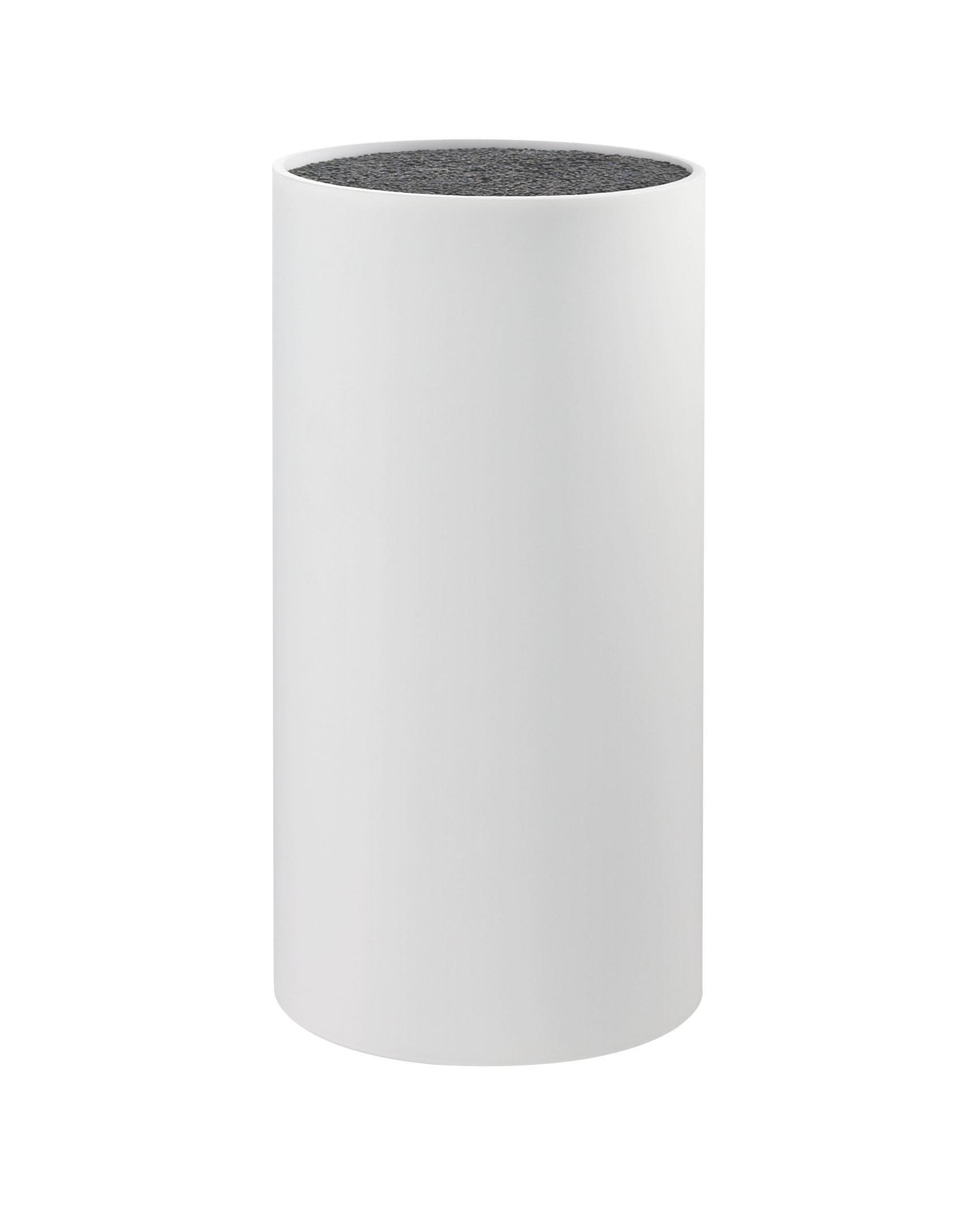 Késtartó Blokk Thorsten - fehér, konvencionális, műanyag (11/22cm) - MÖMAX modern living