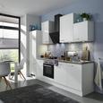 Kuhinjski Blok Neo - bela, Moderno, leseni material (220cm)