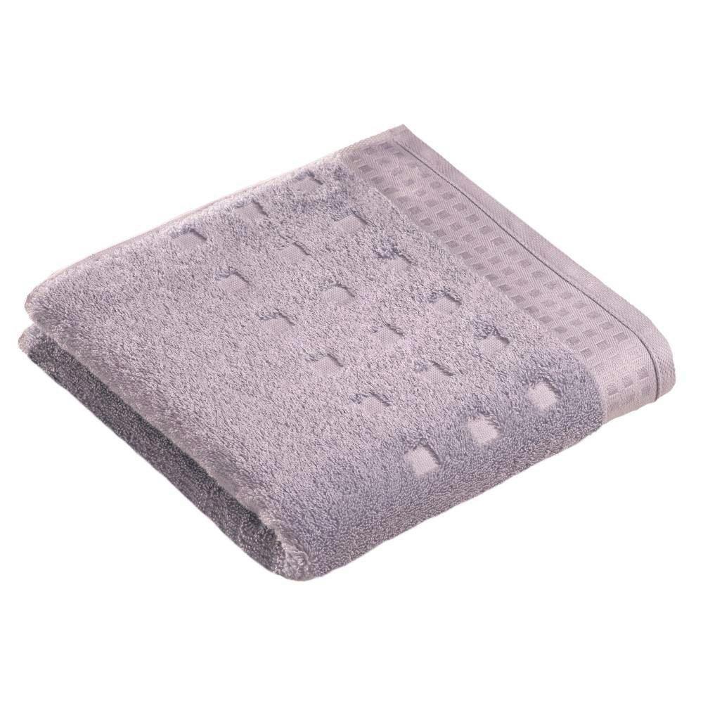 Törölköző Vossen Country Style - ezüst színű, textil (40/60cm)
