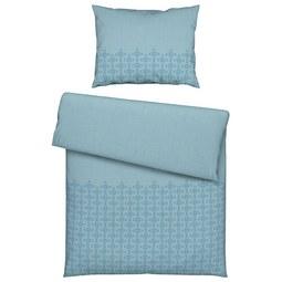 Ágyneműhuat-garnitúra Agnes - Kék, romantikus/Landhaus, Textil (140/200cm) - Mömax modern living