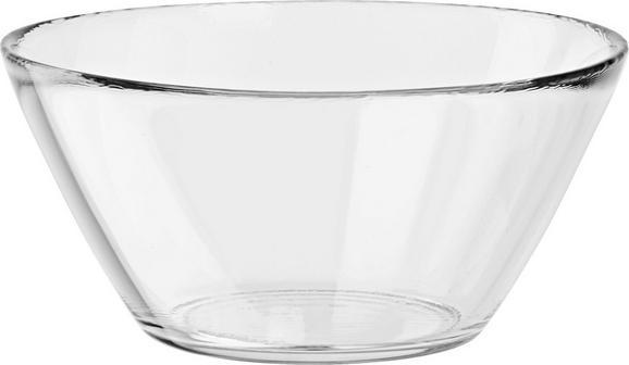 Schale Basic aus Glas - Klar, Glas (6,5/13/13cm) - Mömax modern living