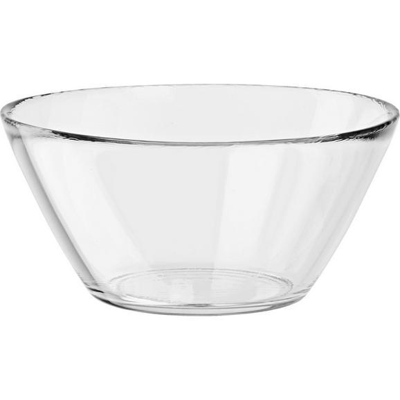 Skleda Basic - prozorna, steklo (6,5/13/13cm) - Mömax modern living