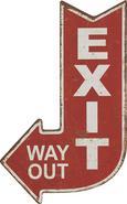 Fali Dekoráció Útmutató Tábla - Piros/Fehér, Lifestyle, Fa (25/40cm) - Mömax modern living
