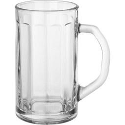 Bierkrug Franz aus Glas, ca. 500ml - Klar, Glas (9/16cm) - Mömax modern living