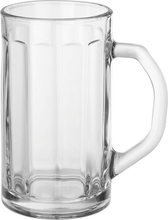 Biertulpe Franz aus Glas, ca. 500ml - Klar, Glas (9/16cm) - MÖMAX modern living