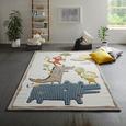 Kinderteppich Max in Bunt ca. 120x170cm - Multicolor, Textil (120/170cm) - Mömax modern living
