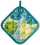 Topflappen Green Leaf in Bunt - Multicolor, Textil (20/20cm) - Mömax modern living