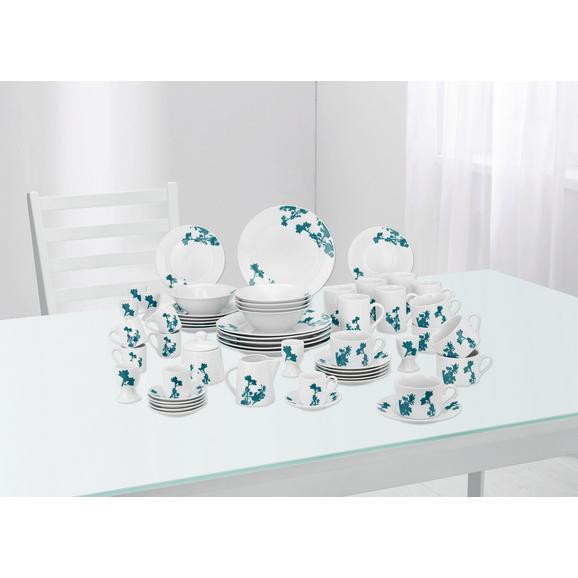 Kombinirani Servis Amy - petrolej/bela, keramika - Mömax modern living