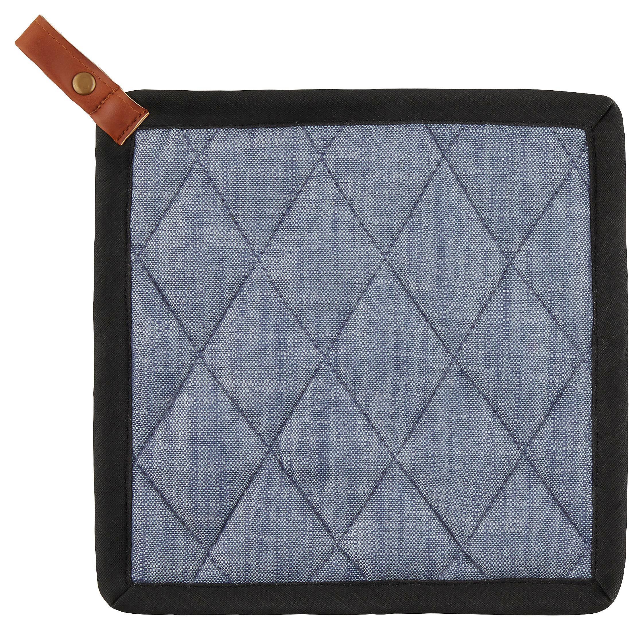 Edényfogó Ruha Urban - kék, modern, textil (20/20cm) - MÖMAX modern living